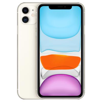 iPhone 11 Weiß Frontansicht 1
