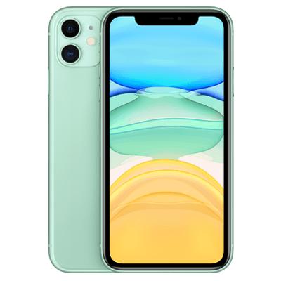 iPhone 11 Grün Frontansicht 1