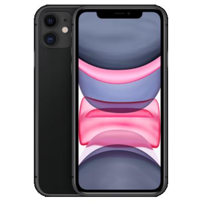 iPhone 11 Schwarz Frontansicht 1
