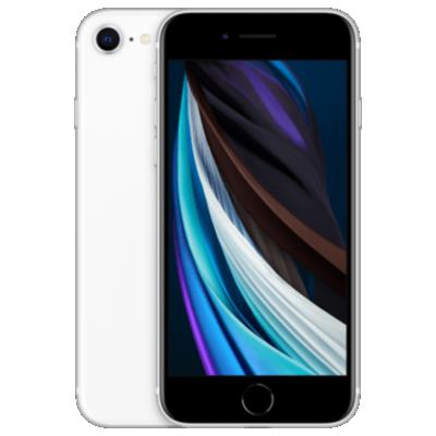 iPhone SE (2020) Weiß Frontansicht 1