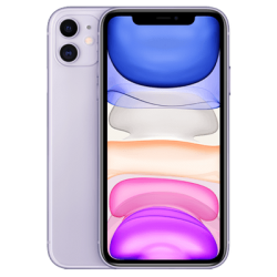 iPhone 11 violett Frontansicht 1