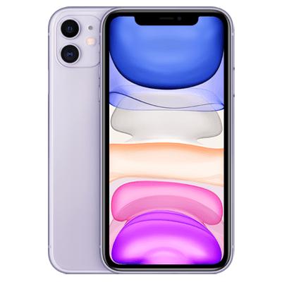 iPhone 11 violett Frontansicht 1