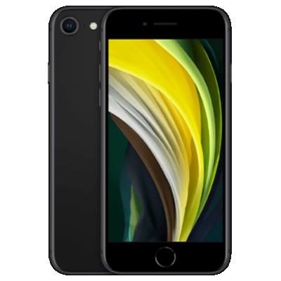 iPhone SE (2020) Schwarz Frontansicht 1