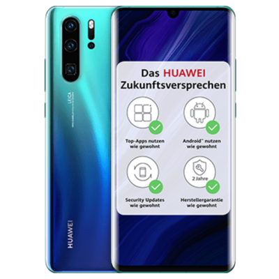 P30 Pro New edition Blau Frontansicht 1