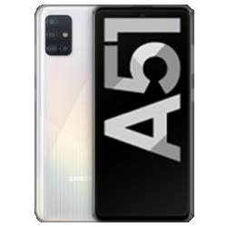 Galaxy A51 Weiß Frontansicht 1