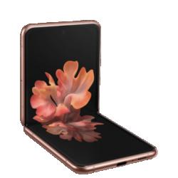 Galaxy Z Flip 5G bronze Frontansicht 1