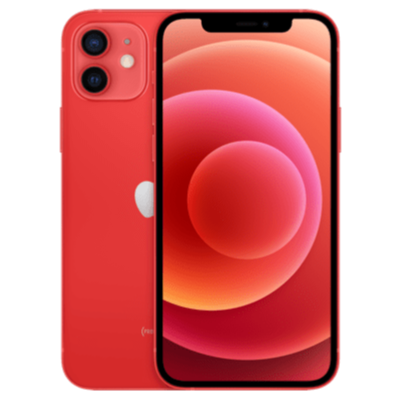 iPhone 12 mini Product Red Frontansicht 1