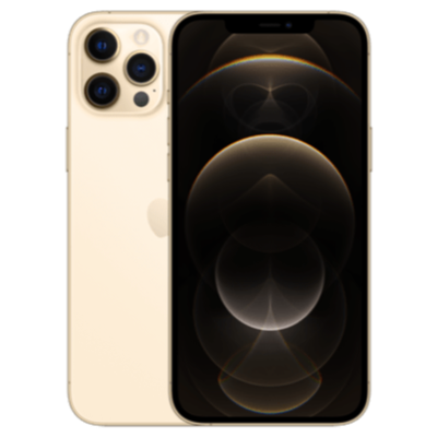 iPhone 12 Pro Max Gold Frontansicht 1