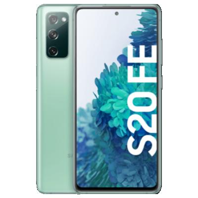 Galaxy S20 FE Grün Frontansicht 1