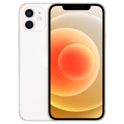 iPhone 12 mit AirPods Pro Weiß Frontansicht 1