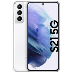 Galaxy S21 5G mit Galaxy Buds Live (Presale) weiss Frontansicht 1