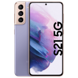 Galaxy S21 5G violett Frontansicht 1