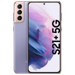 Galaxy S21 Plus 5G mit Galaxy Buds Live (Presale) violett Frontansicht 1