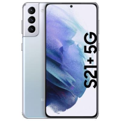 Galaxy S21 Plus 5G Silber Frontansicht 1
