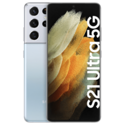 Galaxy S21 Ultra 5G mit Galaxy Buds Pro (Presale) Silber Frontansicht 1