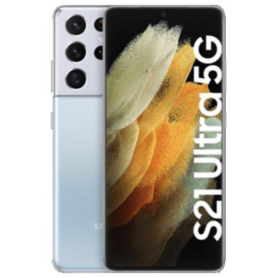 Galaxy S21 Ultra 5G Silber Frontansicht 1