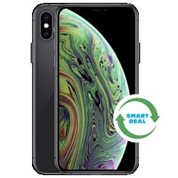 iPhone XS (Generalüberholt) Grau Frontansicht 1