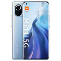 Mi 11 5G Blau Frontansicht 1