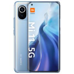 Mi 11 5G mit Presale-Aktion Blau Frontansicht 1