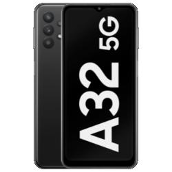 Galaxy A32 5G Schwarz Frontansicht 1