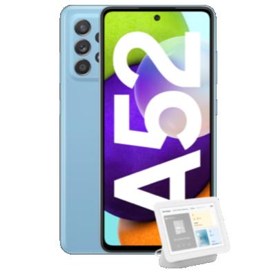 Galaxy A52 Blau Frontansicht 1