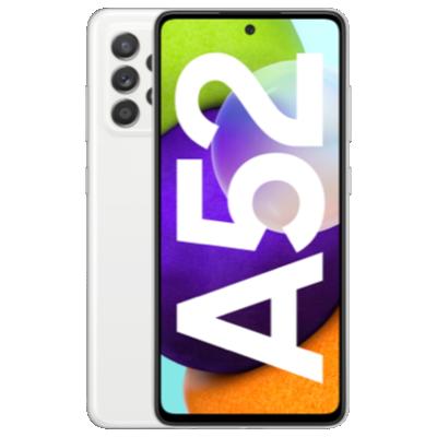 Galaxy A52 weiss Frontansicht 1