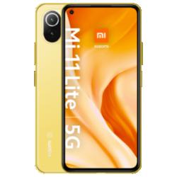 Mi 11 Lite 5G mit Mi Smart Fan Gelb Frontansicht 1