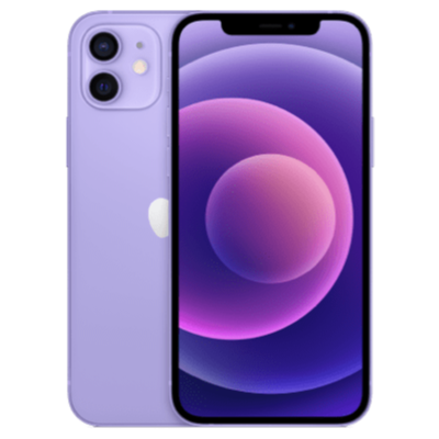 iPhone 12 Lila Frontansicht 1