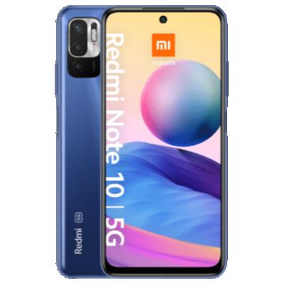Redmi Note 10 5G mit EarbudsBasic 2 Blau Frontansicht 1
