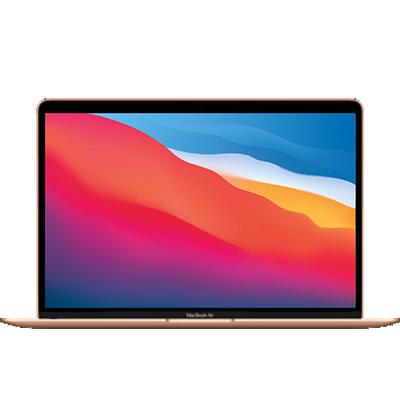 MacBook Air (M1) Gold Frontansicht 1
