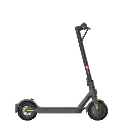 Mi Electric Scooter 1S Schwarz Frontansicht 1