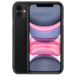 iPhone 11 (Generalüberholt) Schwarz Frontansicht 1