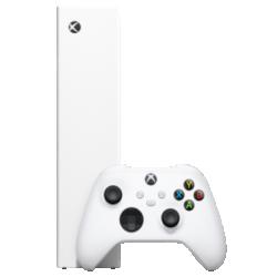 Xbox Series S (512 GB) Weiß Frontansicht 1