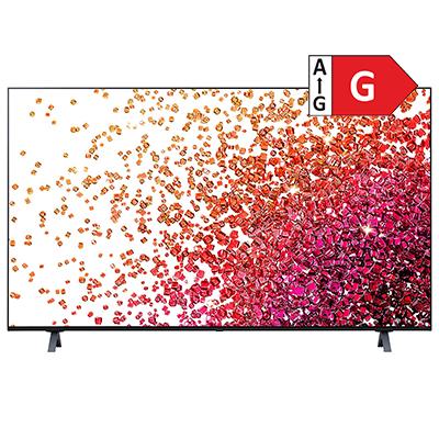 """Nanocell TV 55"""" Schwarz Frontansicht 1"""