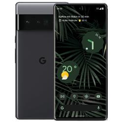 Pixel 6 Pro Schwarz Frontansicht 1