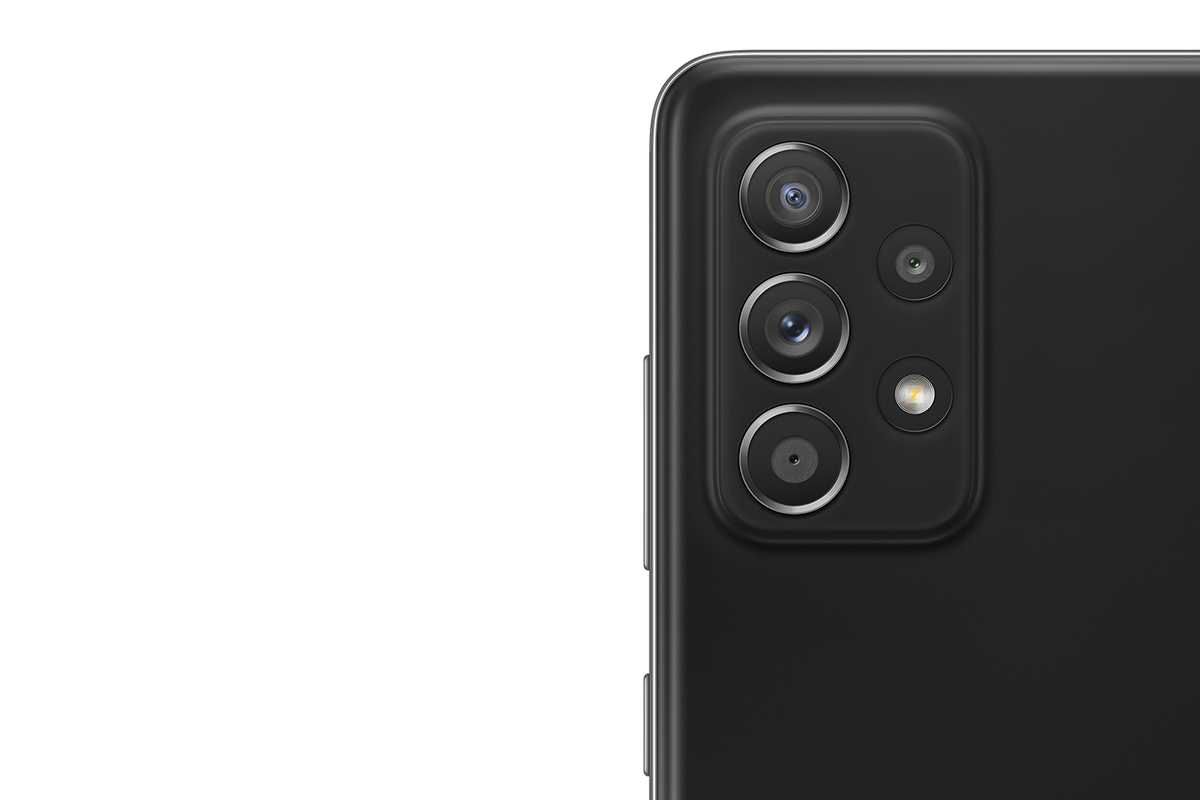 Samsung Galaxy A52 mit Vertrag   Kamera