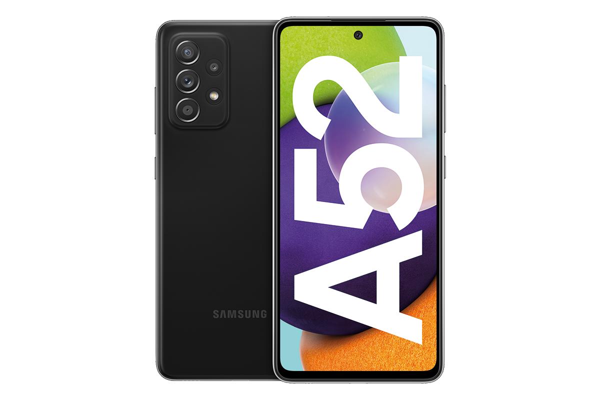 Samsung Galaxy A52 mit Vertrag  Vorderseite