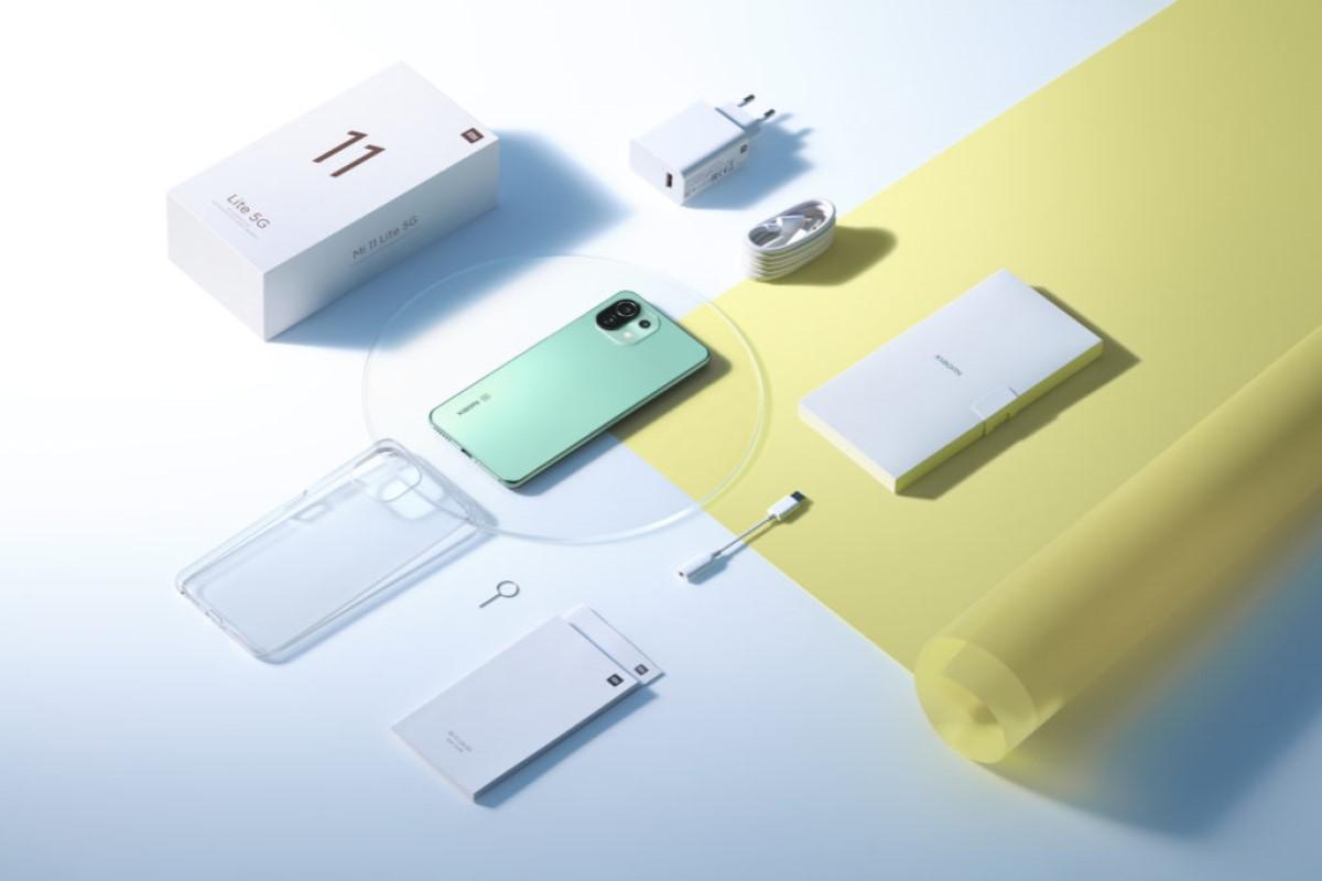 Xiaomi Mi 11 Lite 5G mit Vertrag Lieferumfang