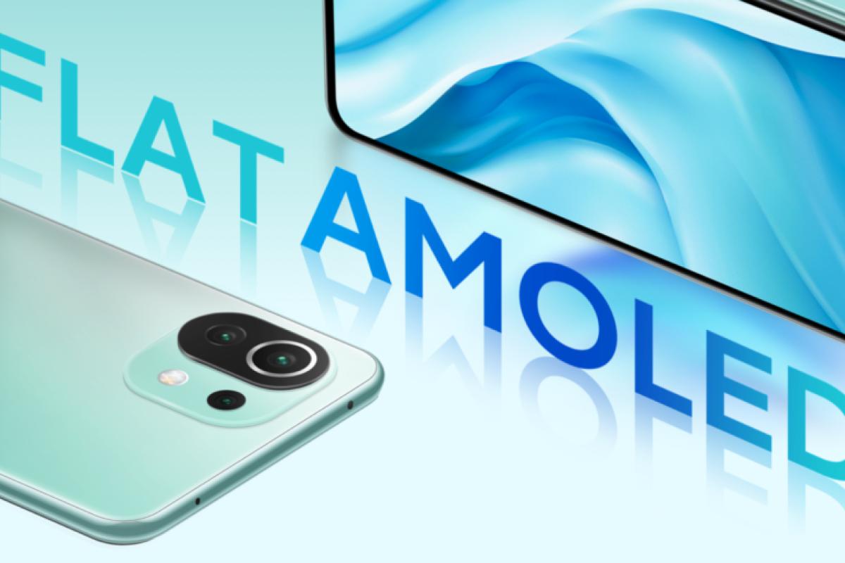 Xiaomi Mi 11 Lite mit Vertrag Display