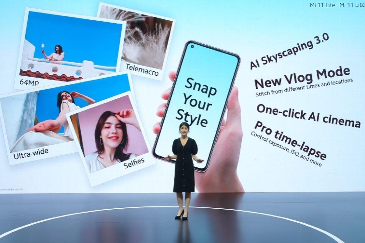 Xiaomi Mi 11 Lite 5G mit Vertrag Kamera