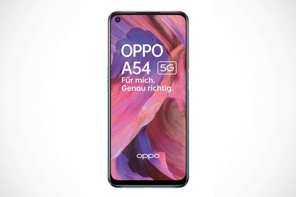 Oppo A54 5G mit Vertrag Display