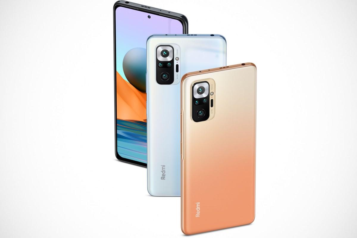 Xiaomi Redmi Note 10 Pro mit Vertrag Design