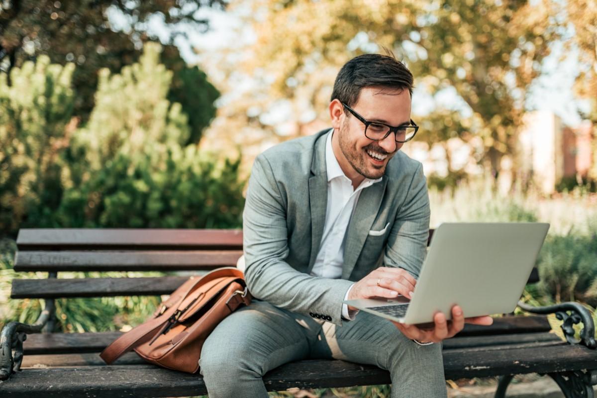 Datentarif - Notebook im Park nutzen