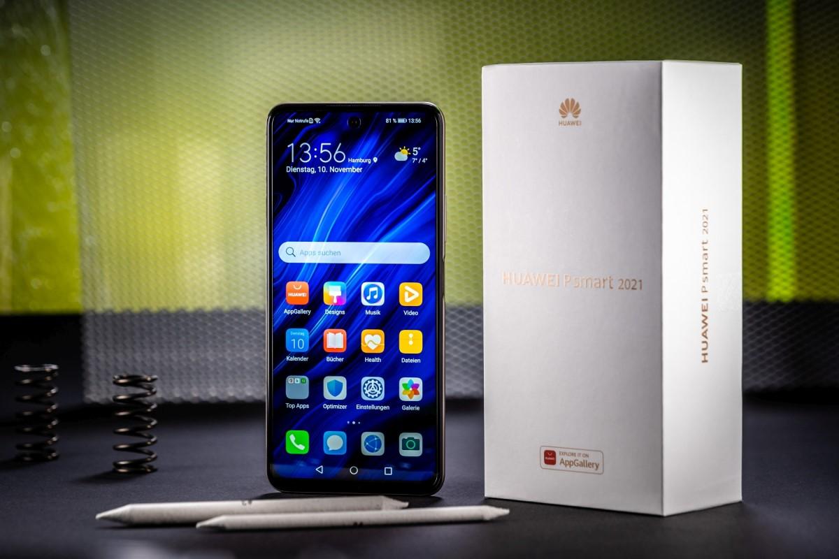 Huawei P Smart 2021 mit Vertrag