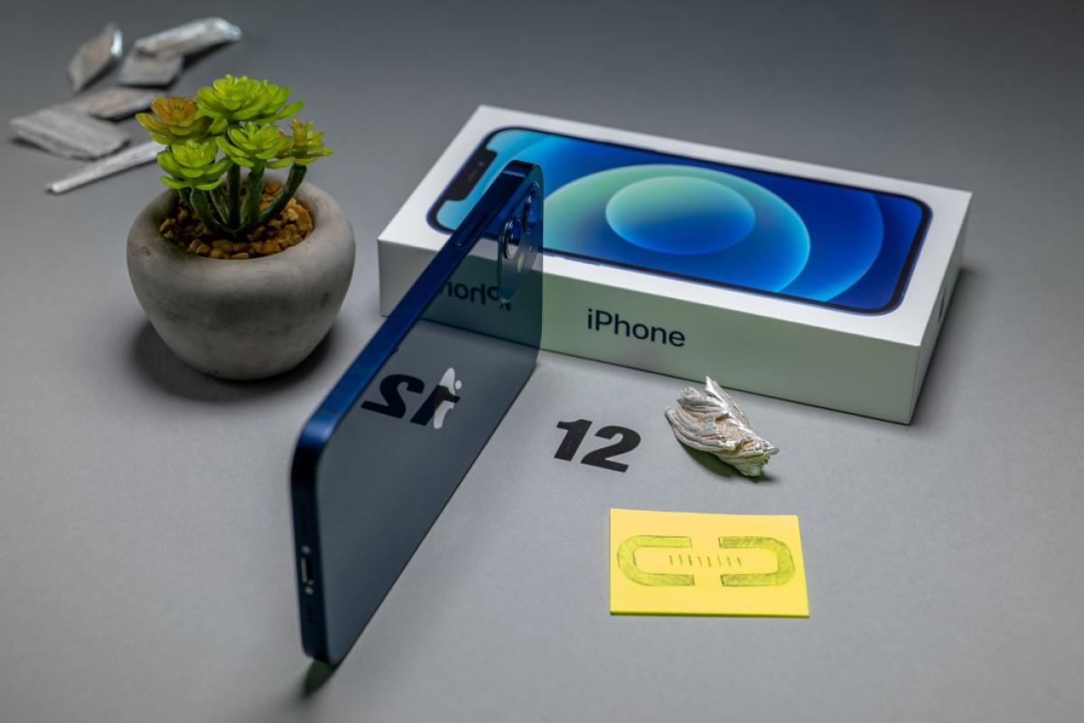 Gebrauchte Handys mit Vertrag iPhone 12 Box