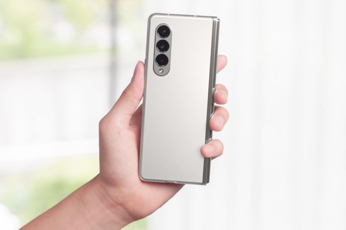 Samsung Galaxy Z Fold3 5G mit Vertrag Kamera