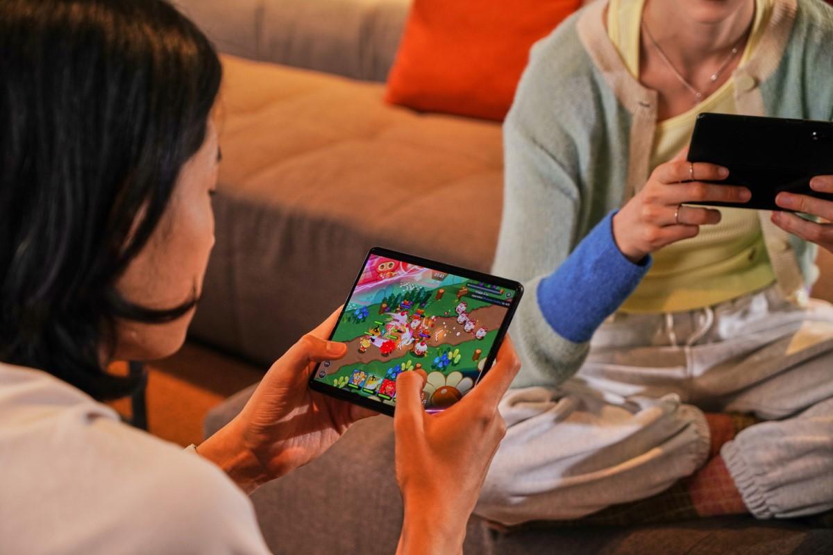 Samsung Galaxy Z Fold3 5G mit Vertrag zocken