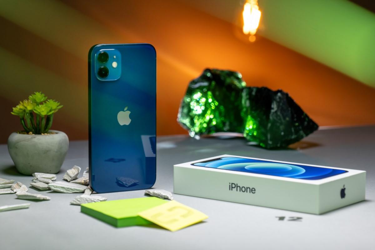 iPhone 12 mit Vertrag Rückseite
