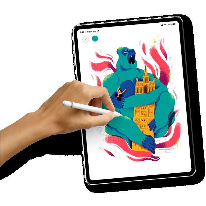 Apple iPad Pro 11 5G (3. Gen) mit Vertrag Bild 3